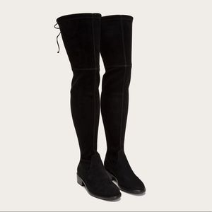 FRYE Taylor Stretch Thigh High Boots